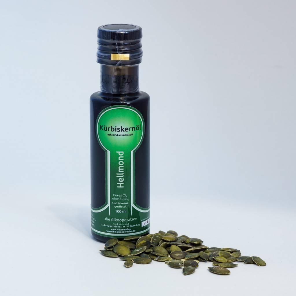 Hellmond - Die Ölkooperative  Kürbiskernöl  100ml