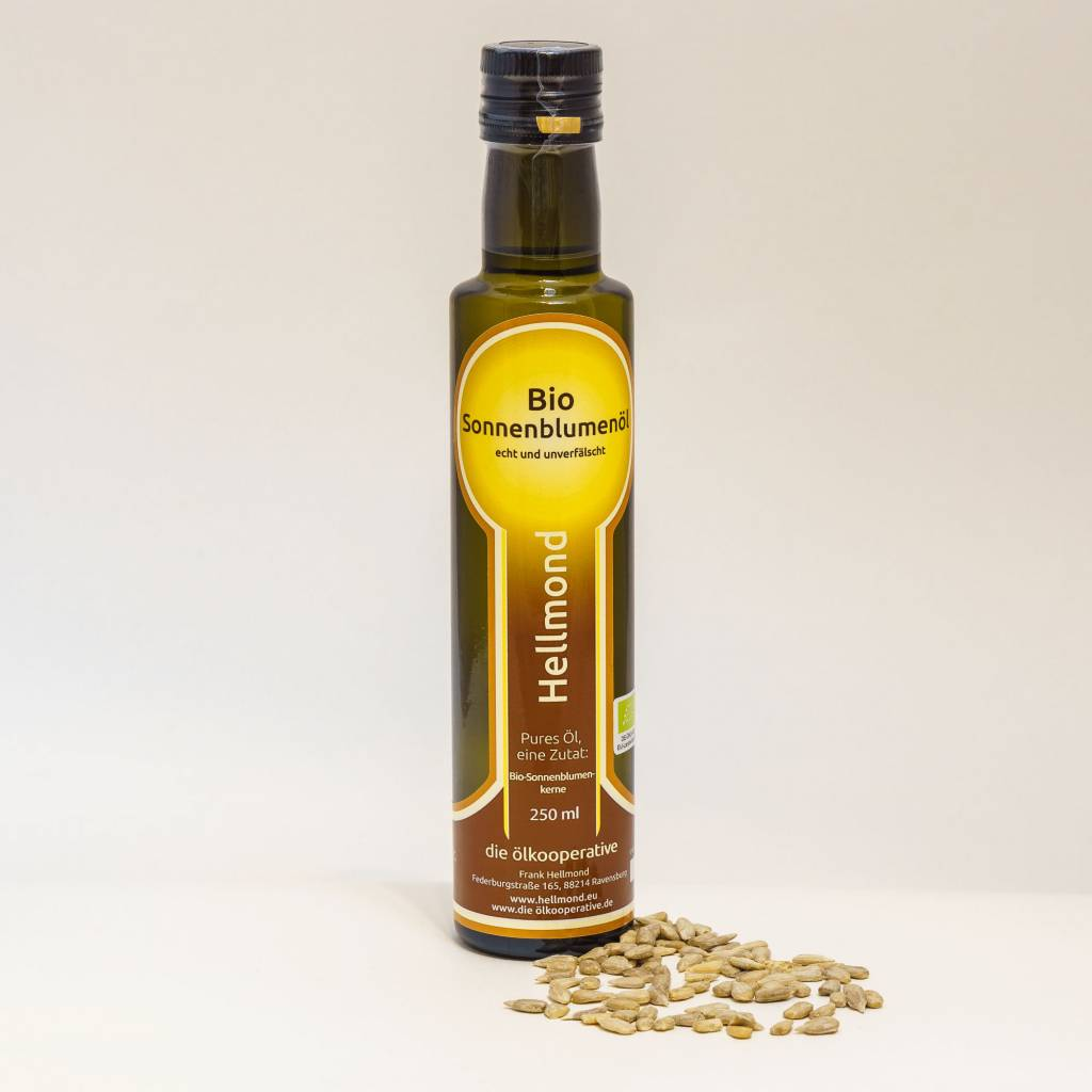Hellmond - Die Ölkooperative Sonnenblumenöl  250ml
