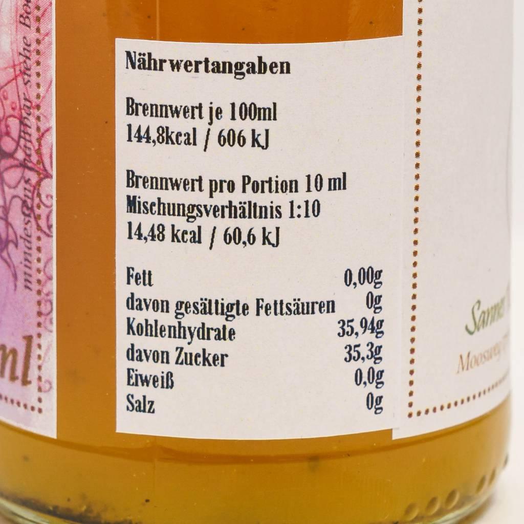 Sannes Kräuter-Küche 1001 Nacht Sirup 330ml