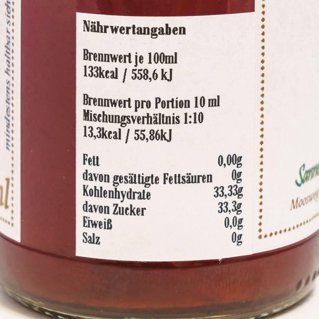 Sannes Kräuter-Küche Rosen Sirup 330ml