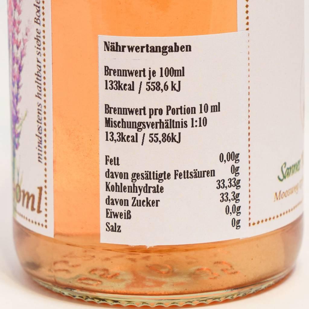 Sannes Kräuter-Küche Lavendel Sirup 330ml