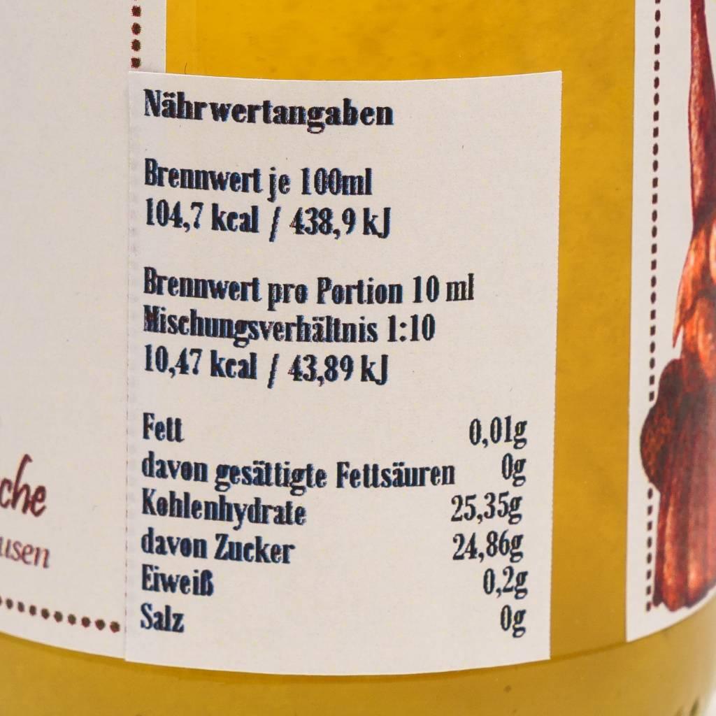 Sannes Kräuter-Küche Zitronen Minz Sirup 330ml