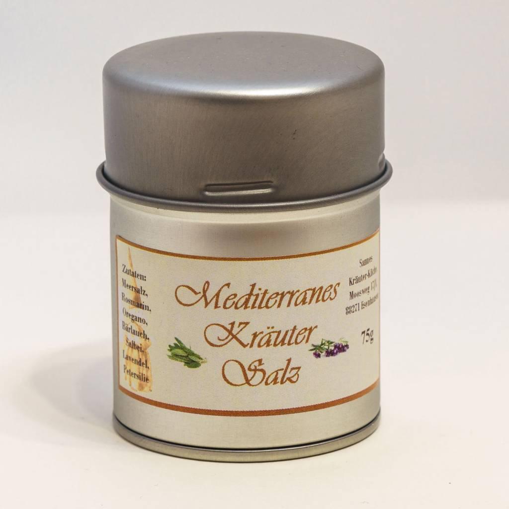 Sannes Kräuter-Küche Mediterranes Kräuter Salz 75g