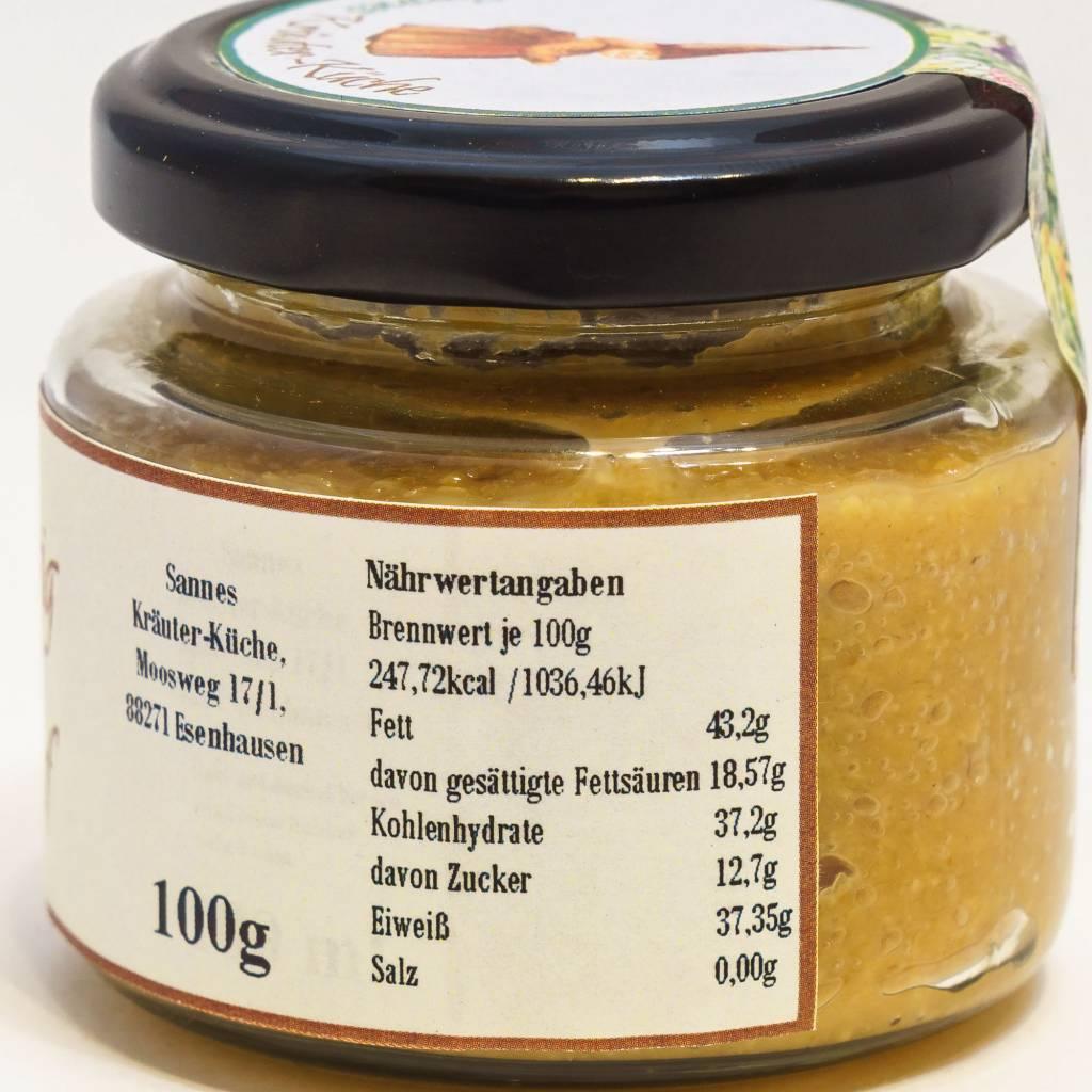 Sannes Kräuter-Küche Honig Senf 100g