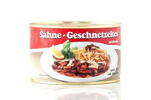 Metzgerei Metzler Sahnegeschnetzeltes,  Schwein 400g