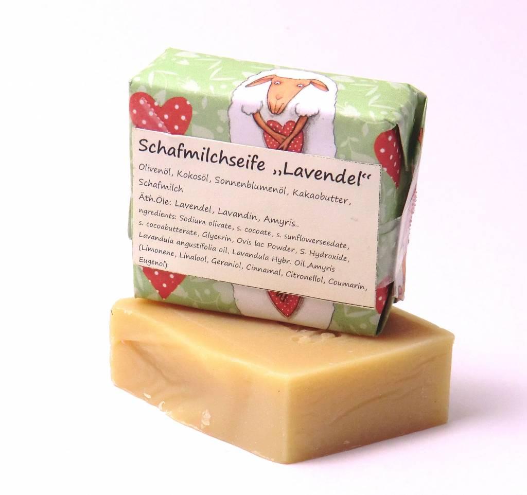 Sapoem - Feine Naturseifen  Schafmilch- Seife Lavendel