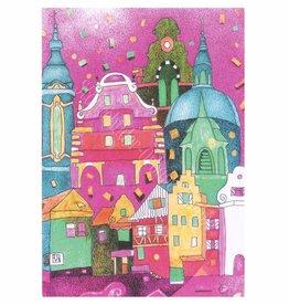 Städtebilder - Urbane Träume Postkarte Weingarten