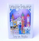Städtebilder - Urbane Träume Notitzheft Isny, unliniert, A5