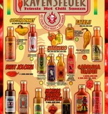 Ravensfeuer - Feuriges aus Ravensburg Texican Hellbrew Sauce 100ml