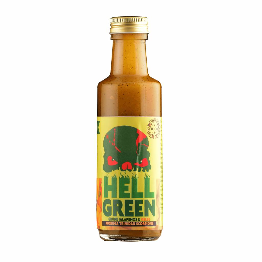Ravensfeuer - Feuriges aus Ravensburg Hell Green Chili Sauce 100ml