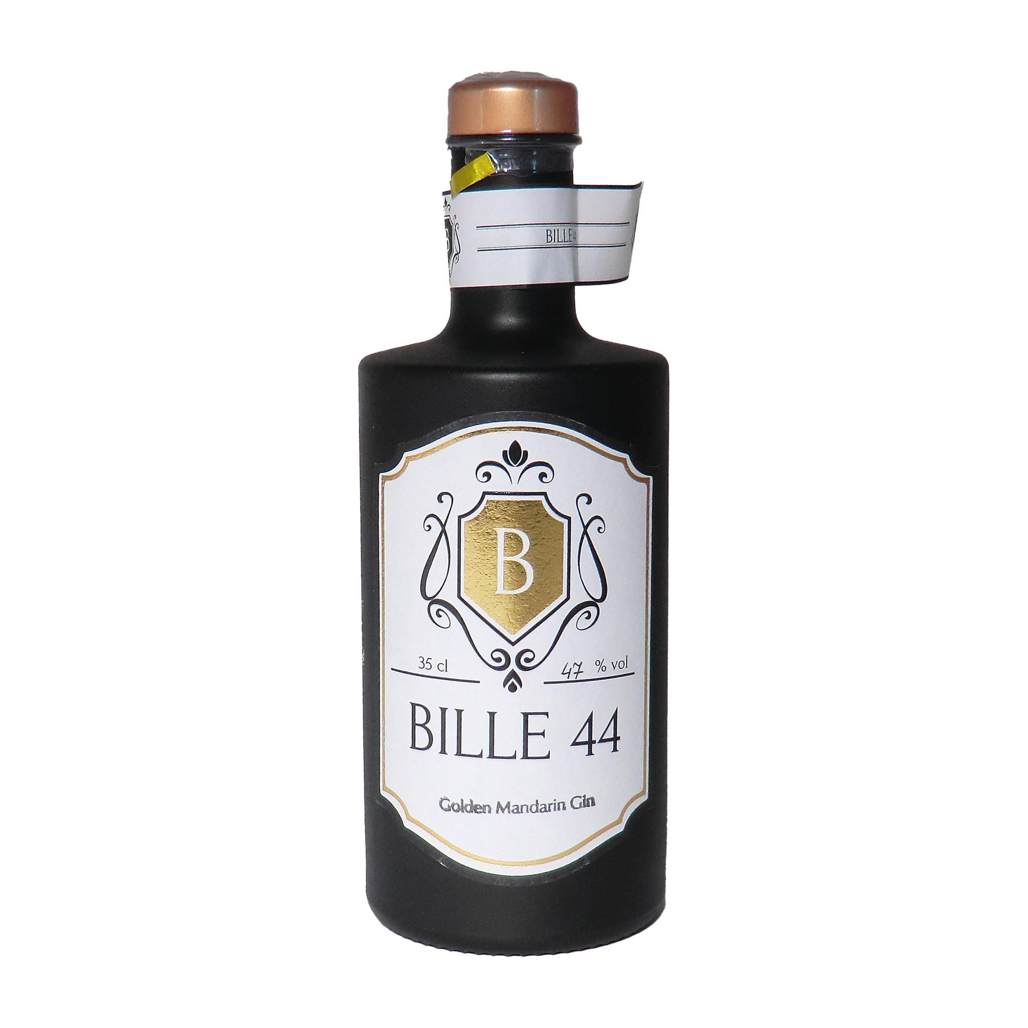 Bille44 - Premium Edelbrand  Golden Mandarin Gin 350ml