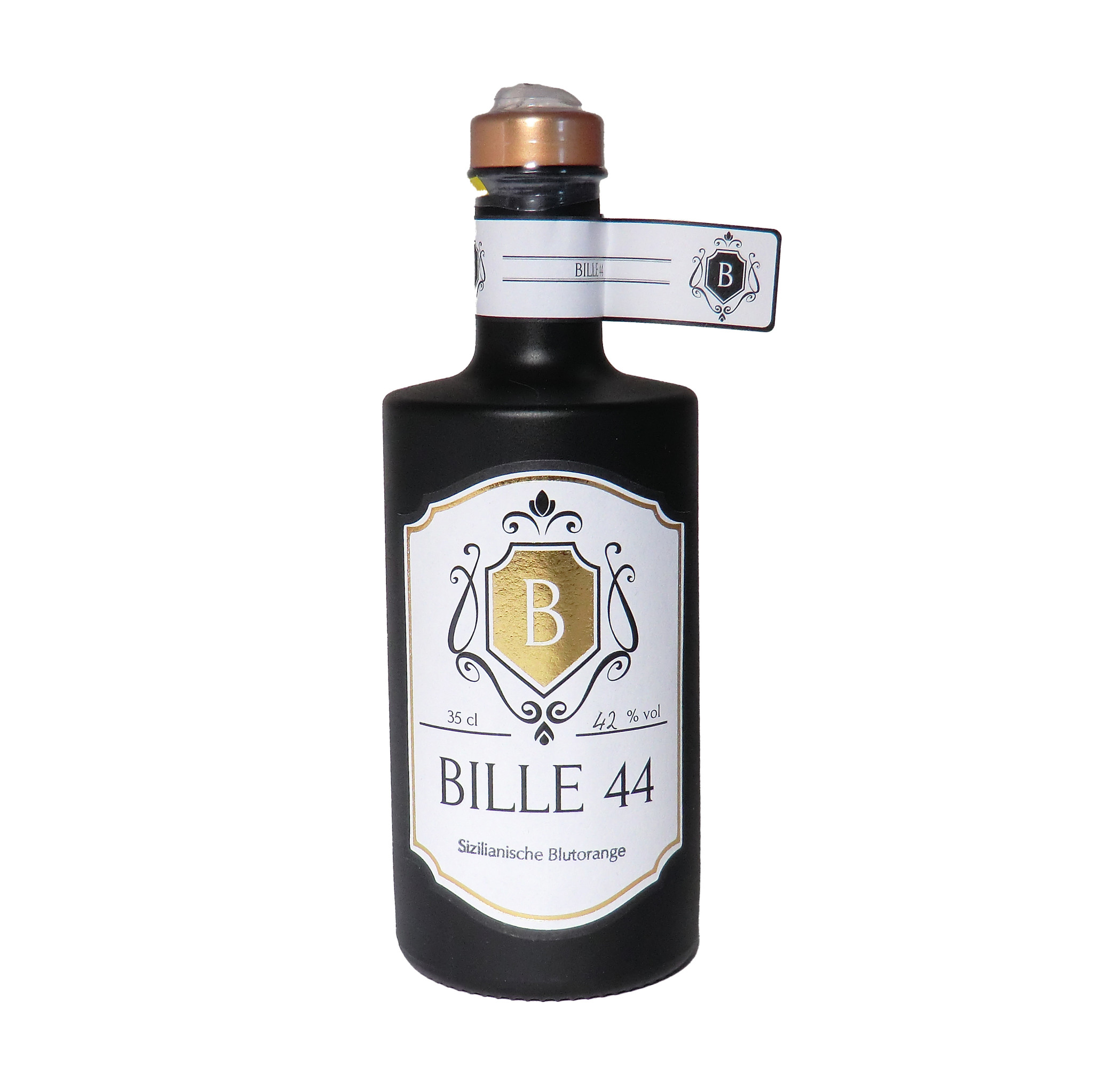 Bille44 - Premium Edelbrand Sizilianische Moro-Blutorange 350ml