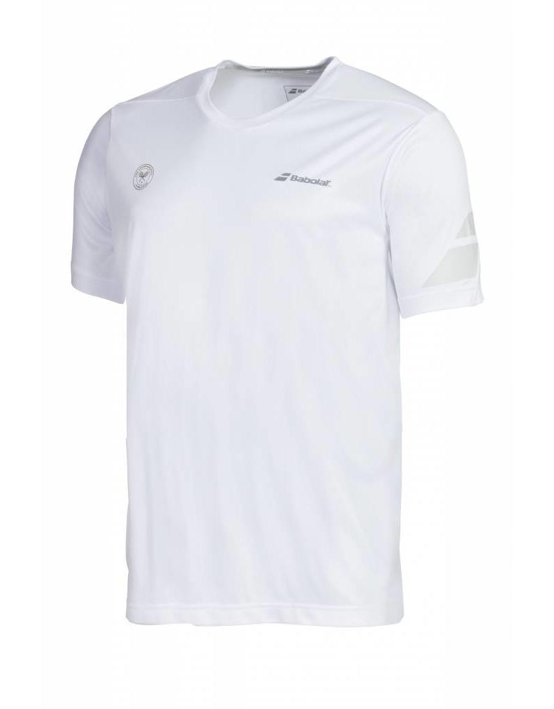 Babolat T-Shirt Crew Neck Performance Match Wimbledon