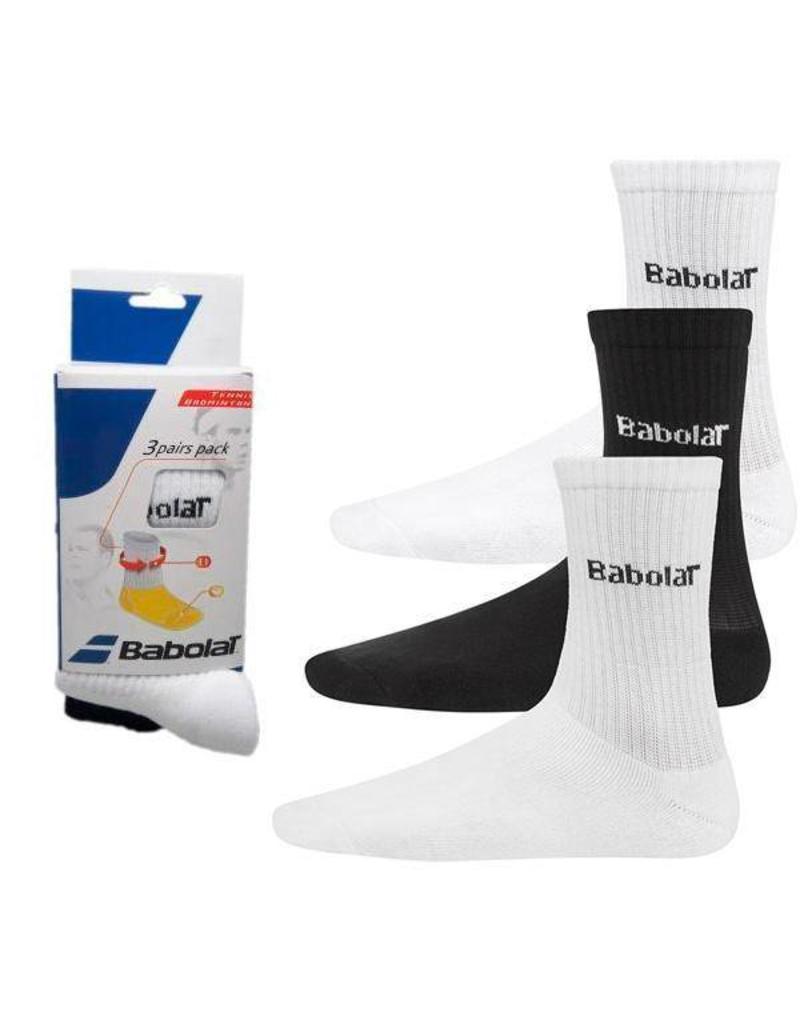 Babolat 3 Pack Sokken
