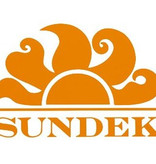 "Sundek M572 16""Mid Length Swim Short with Sundek logo and  color match rainbow back detail and Sundek logo on the back"