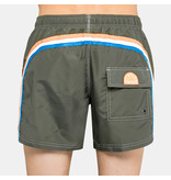 "Sundek M504  9.5"" Jongens  Swim Shorts with Rainbow Logo"
