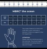 MBRC the Ocean Atlantic Ocean armband touw zwart