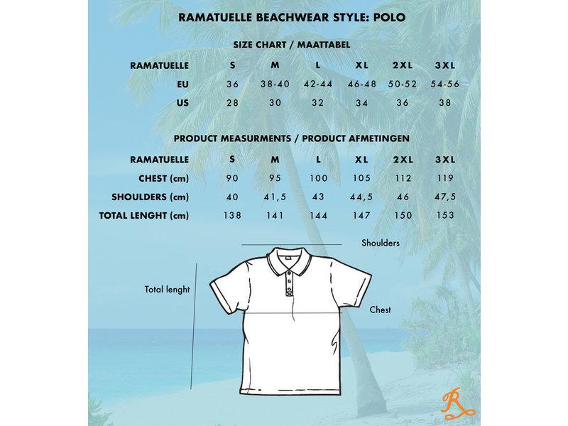 Ramatuelle South Beach Polo | donkere kleuren