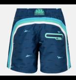 "Sundek B552  10"" Jongens  Swim Shorts with Rainbow Logo"