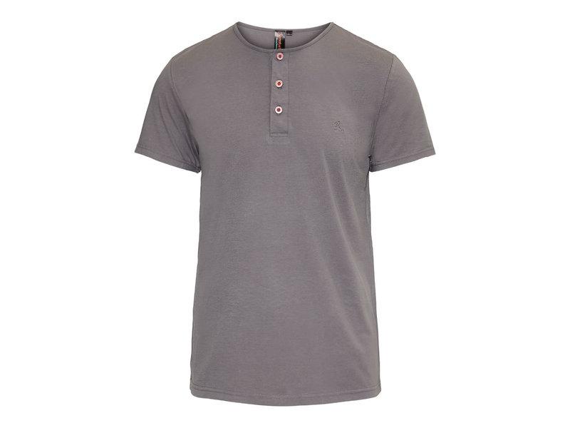 Ramatuelle Key Largo T-shirt met knoopsluiting
