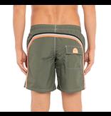 Sundek M505 Long Length Swim Shorts with Rainbow Logo