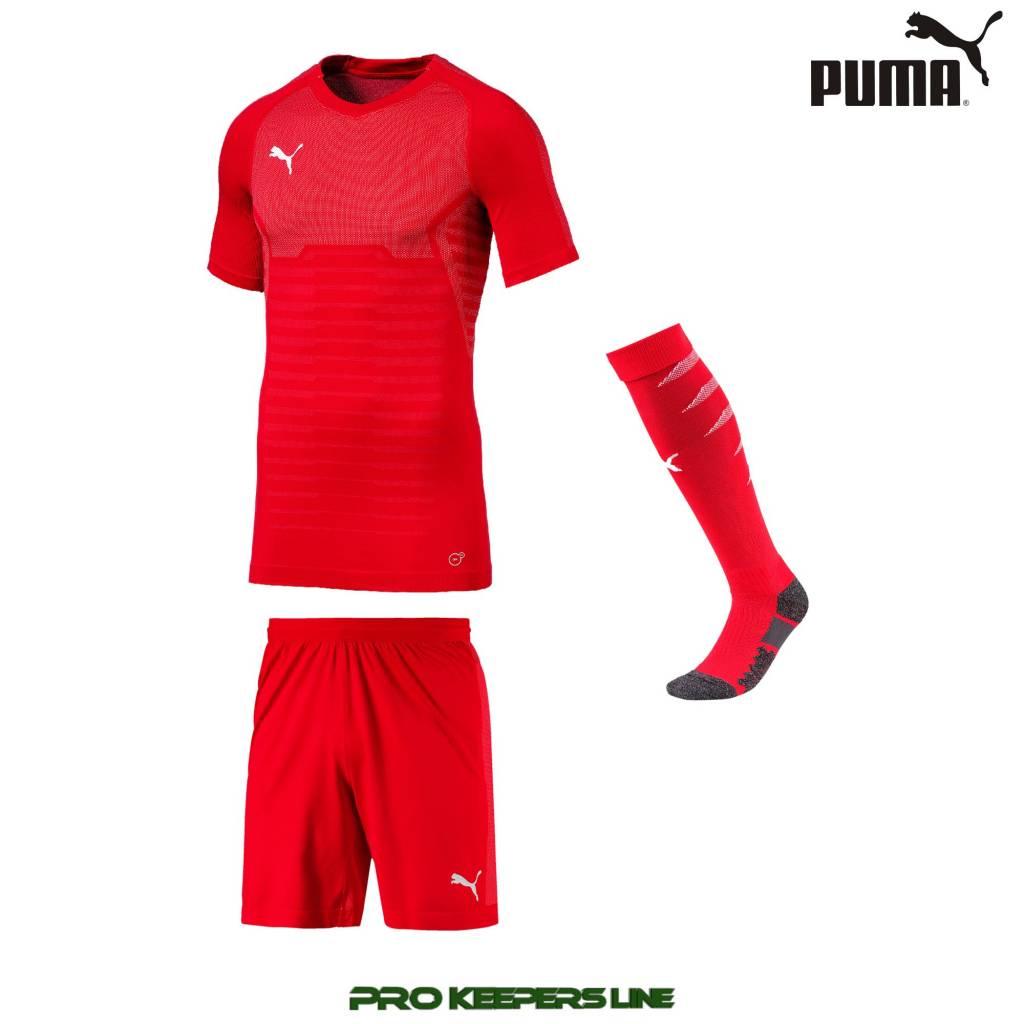 0d068e546 PUMA FINAL EVOKNIT GK SET PUMA RED - Pro Keepers Line ...