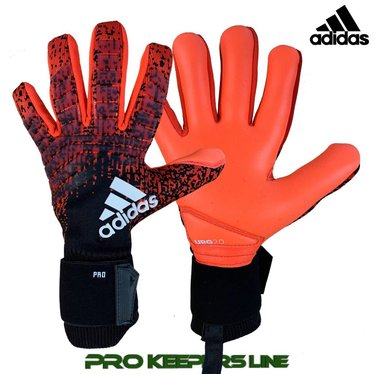 90ae529c377 ADIDAS PREDATOR PRO ACTIVE RED/BLACK (NEGATIV-SCHNITT) - Pro Keepers ...
