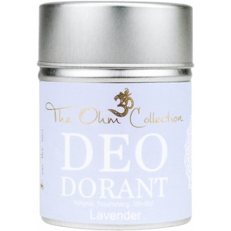 The Ohm Collection Deo Dorant Poeder Lavendel