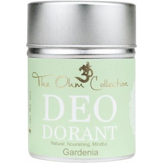 The Ohm Collection Deo Dorant Poeder Gardenia