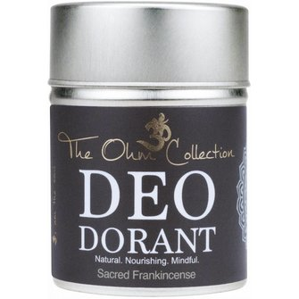 The Ohm Collection Deo Dorant Poeder Frankincense