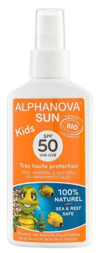 Alphanova SUN Bio Spray Kids SPF50 125g