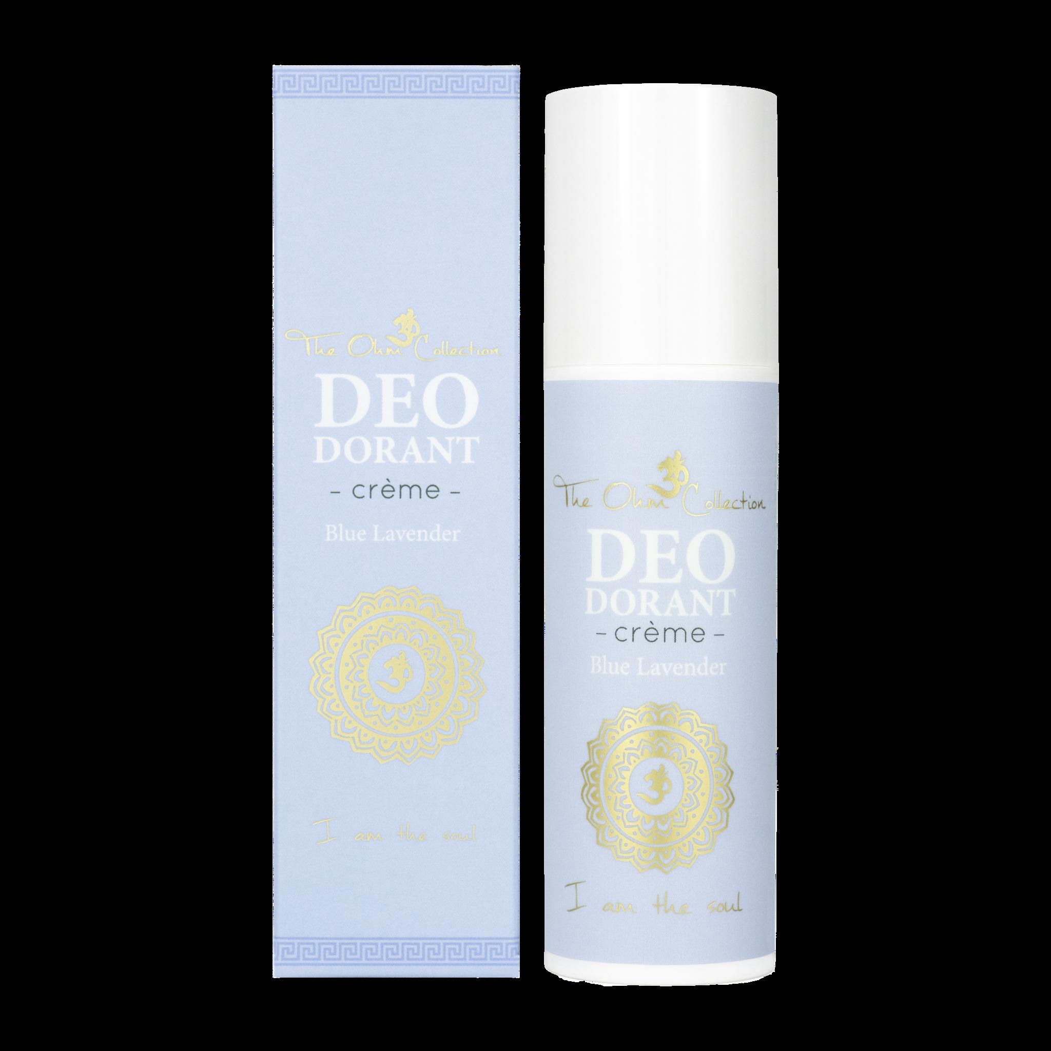 The Ohm Collection Deodorant Crème Blue Lavender