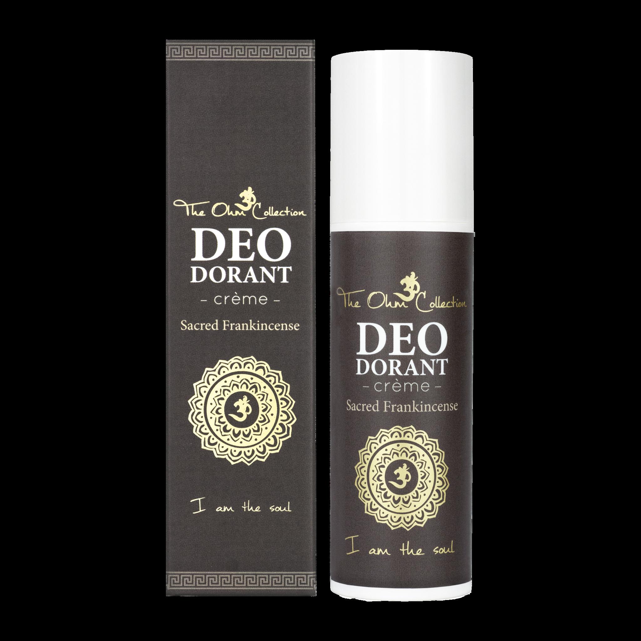 Deodorant Crème Sacred Frankincense