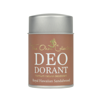 The Ohm Collection DEO Dorant Poeder Sandalwood  50 gram