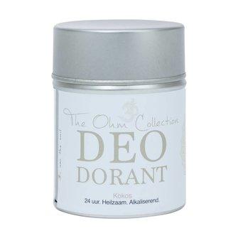 The Ohm Collection Deo Dorant Poeder Kokos
