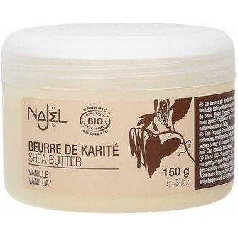 Najel Shea Butter Vanilla 150 gram