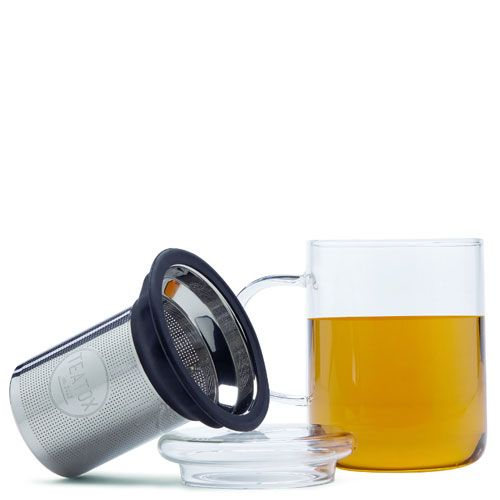 Teatox Glass Mug met Thee Filter