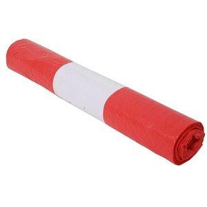 Vuilniszak 70x110 cm rood / doos van 300 stuks