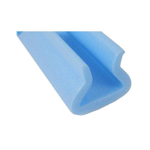 Hoekprofiel foam blauw 175x175 mm