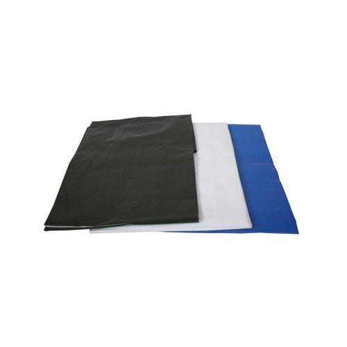 Bouwhekzeil 1,76x3,41 meter wit