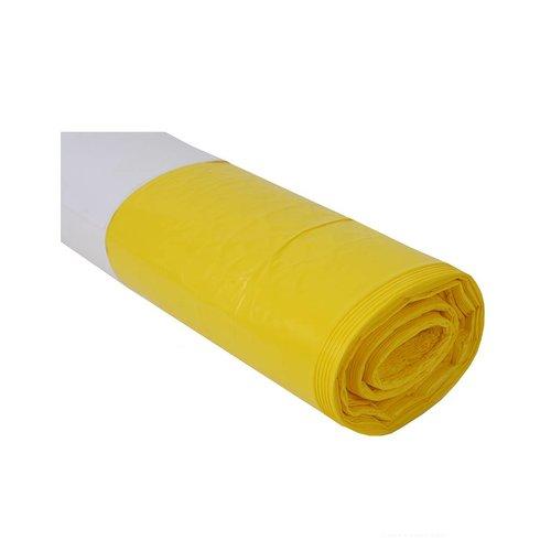 Plastic zak geel