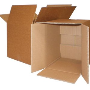 Kartonnen doos enkelgolf