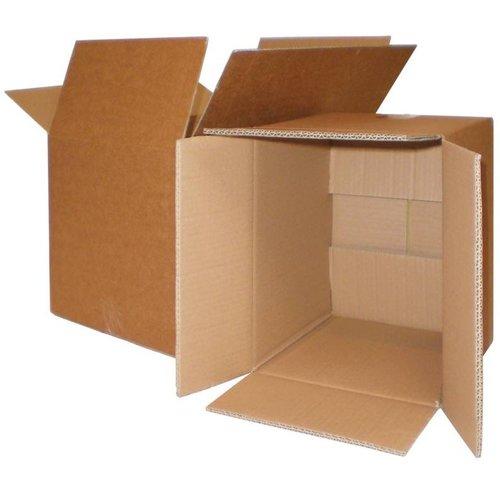 Kartonnen dozen dubbelgolf
