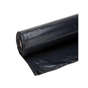 Bouwfolie 4x50 meter zwart