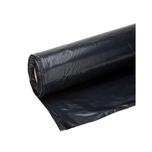 Bouwfolie 4x50 meter - Zwart