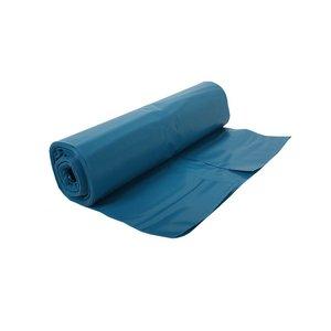 Vuilniszak 90x110cm blauw 45 micron  - 200 stuks