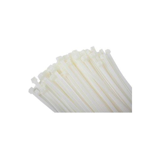 Kabelbinders transparant per zakje van 100 stuks