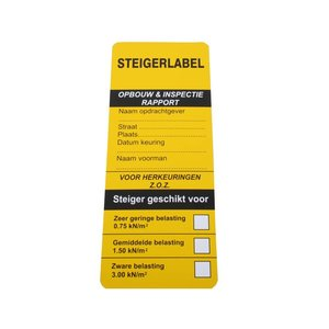 Steigerlabel