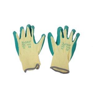Handschoen M-grip groen
