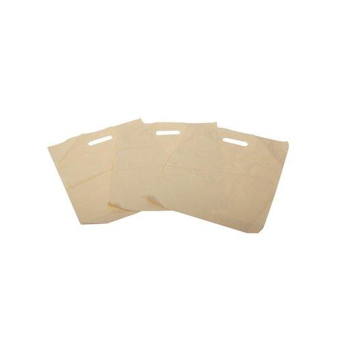Plastic tas 37x44+2x4 cm